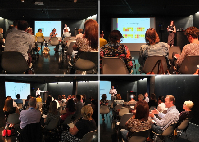 Presentations and discussion at the Rotamap Bristol 2015 event