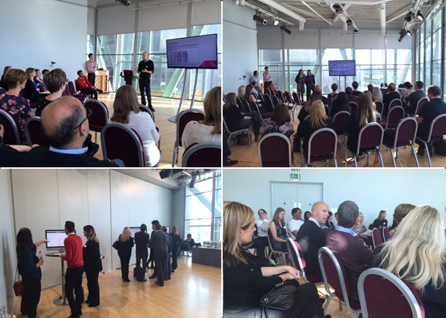 Presentations and discussion at the Rotamap Manchester 2015 event