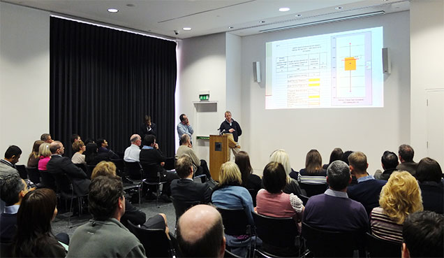 Clients discuss proposed features at the 2013 Training and Management Day